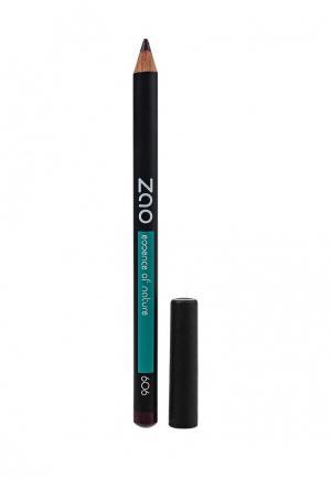 Карандаш для глаз ZAO Essence of Nature , бровей, губ 606 (сливовый) (1,14 г). Цвет: фиолетовый