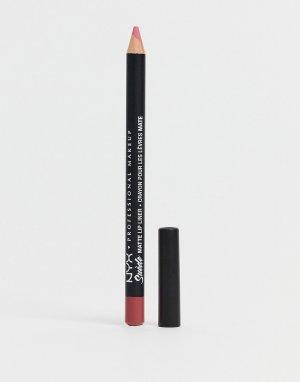 Матовый карандаш для губ Suede NYX Professional Makeup