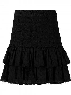 Юбка мини Tinaomi Isabel Marant Étoile. Цвет: черный