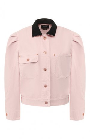 Джинсовая куртка Isabel Marant. Цвет: розовый