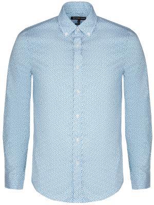 Рубашка с принтом MICHAEL KORS. Цвет: голубой