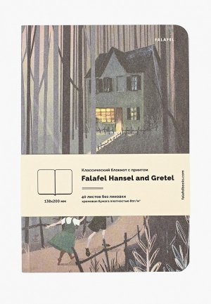 Блокнот Falafel 40 листов. Цвет: зеленый