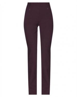 Повседневные брюки PHILOSOPHY di ALBERTA FERRETTI. Цвет: баклажанный