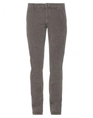 Повседневные брюки HAVANA & CO.. Цвет: голубиный серый