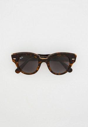 Очки солнцезащитные Ray-Ban® RB2192 1292B1. Цвет: коричневый