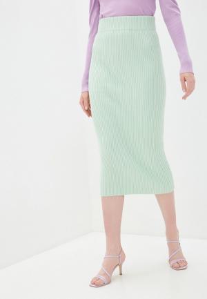 Юбка Glamorous. Цвет: зеленый