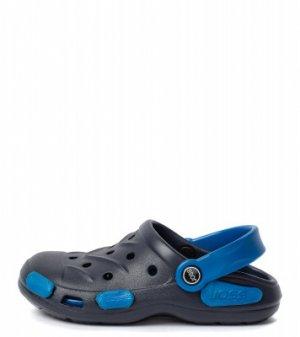 Шлепанцы для мальчиков Garden Shoes, размер 28-29 Joss. Цвет: синий