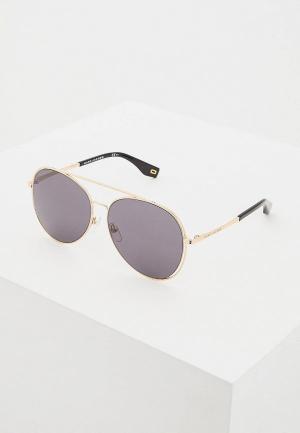 Очки солнцезащитные Marc Jacobs 328/F/S 807. Цвет: золотой