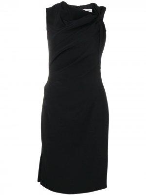 Knot detail dress LANVIN. Цвет: черный