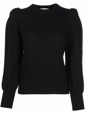 Ruched-detail jumper 8pm. Цвет: черный