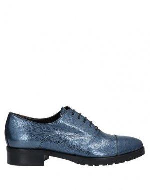 Обувь на шнурках LAURA BELLARIVA. Цвет: грифельно-синий