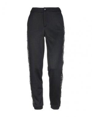 Повседневные брюки JO NO FUI. Цвет: черный