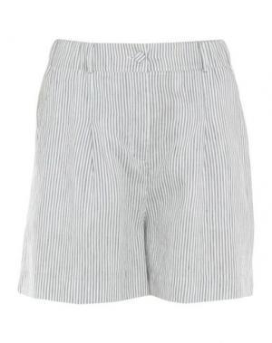 Повседневные шорты SUOLI. Цвет: белый