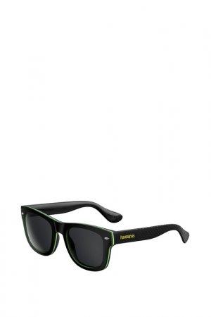 Солнцезащитные очки Havaianas. Цвет: черный