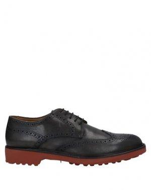 Обувь на шнурках ANGELO NARDELLI. Цвет: стальной серый