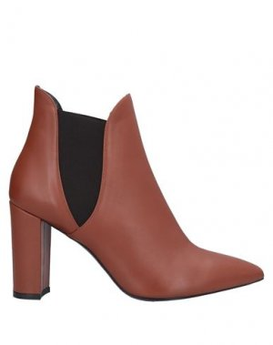 Полусапоги и высокие ботинки GIANNI MARRA. Цвет: желто-коричневый