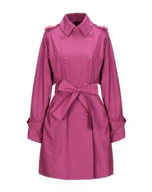 Легкое пальто GEOSPIRIT. Цвет: пурпурный
