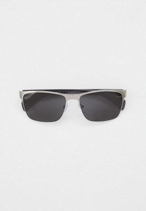 Очки солнцезащитные Prada PR 51OS 5AV5S0. Цвет: серебряный