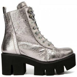 Ботинки Baldan. Цвет: серебряный