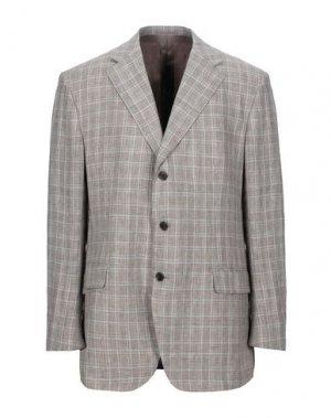 Пиджак JASPER REED. Цвет: коричневый