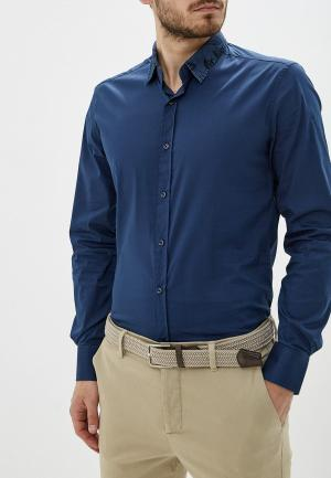 Рубашка Antony Morato. Цвет: синий