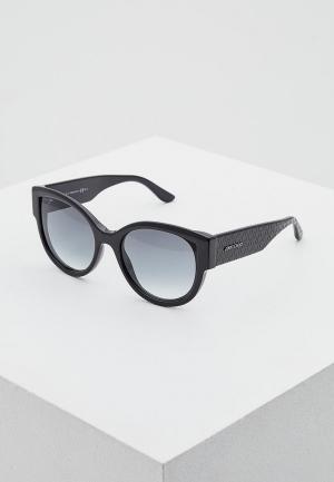 Очки солнцезащитные Jimmy Choo POLLIE/S 807. Цвет: черный