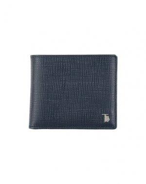 Бумажник TOD'S. Цвет: темно-синий