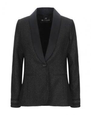 Пиджак MASON'S. Цвет: черный