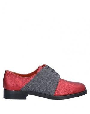 Обувь на шнурках BAGATT. Цвет: красный