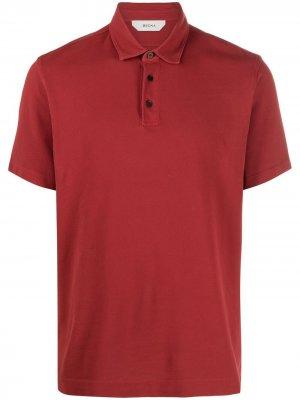 Рубашка поло Z Zegna. Цвет: красный