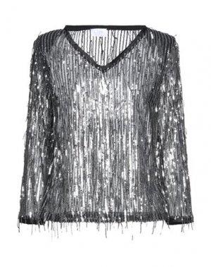 Блузка CLIPS MORE. Цвет: черный