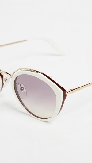 Oval Sunglasses Prada