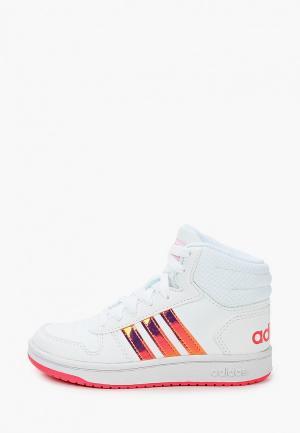 Кеды adidas. Цвет: белый