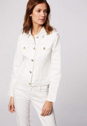 Куртка джинсовая Morgan. Цвет: белый