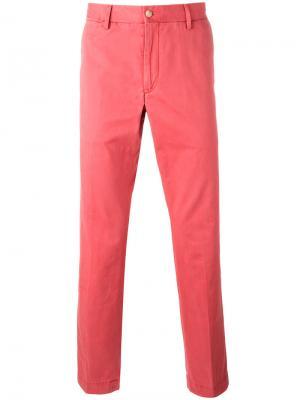 Классические брюки чинос Polo Ralph Lauren. Цвет: красный