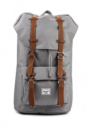 Рюкзак Herschel Supply Co LITTLE AMERICA. Цвет: серый