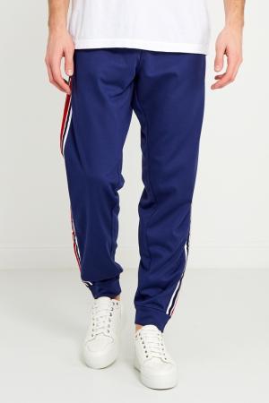 Спортивные брюки с лампасами Gucci. Цвет: синий