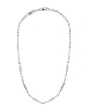 Ожерелье SWAROVSKI. Цвет: серебристый