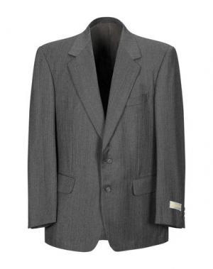 Пиджак AQUASCUTUM. Цвет: стальной серый