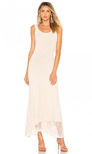 Платье alonia Ronny Kobo. Цвет: нейтральный