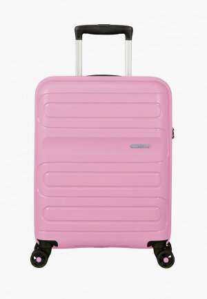 Чемодан American Tourister SUNSIDE. Цвет: розовый
