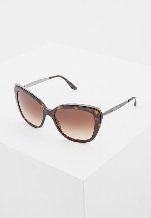Очки солнцезащитные Dolce&Gabbana DG4332 502/13. Цвет: коричневый