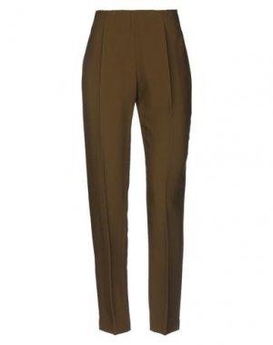 Повседневные брюки ANTONIO BERARDI. Цвет: зеленый