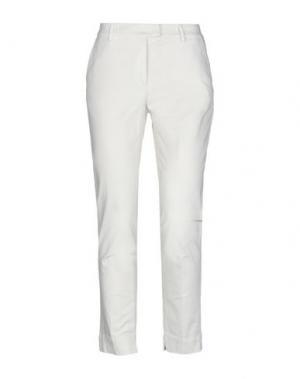 Повседневные брюки CAPPELLINI by PESERICO. Цвет: слоновая кость