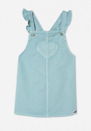 Сарафан Gloria Jeans. Цвет: голубой