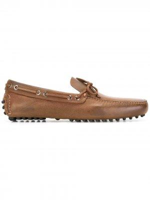 Классические мокасины Car Shoe. Цвет: коричневый