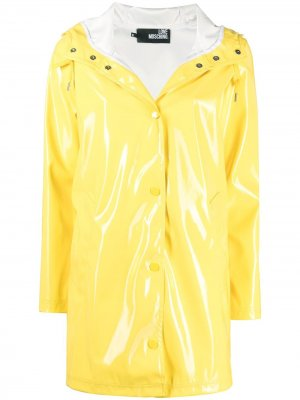 Glossy rain mac Love Moschino. Цвет: желтый