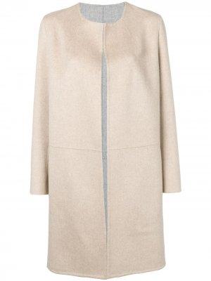 Кашемировое пальто Inga Liska. Цвет: нейтральные цвета
