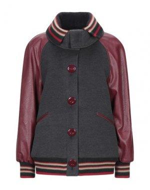 Куртка JIJIL. Цвет: свинцово-серый