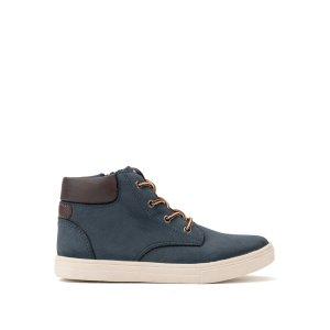 Ботинки LaRedoute. Цвет: синий